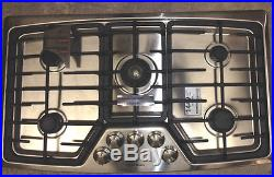 EW36GC55GS2 Electrolux 36 Gas Cooktop Stainless Steel DISPLAY MODEL