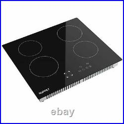 Electric Cooktop Built In Induction Cooktop Vertical with 4 Burner Munites Timer