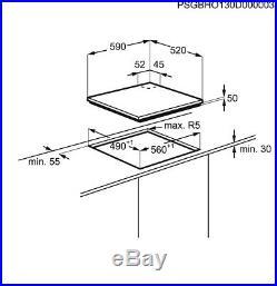 Electrolux EGD6576NOK 60cm Induction-Gas Kitchen Hob New