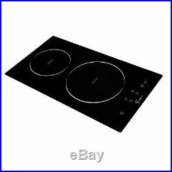 Empava 12 2 Burners Tempered Glass Electric Induction Cooktop