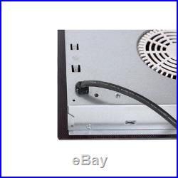 Empava 12 2 Burners Tempered Glass Electric Induction Cooktop EMPV-IDC12
