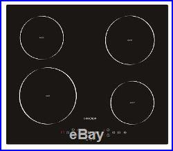 Empava 24 Electric Induction Cooktop With 4 Booster Burners EMPV-IDC24