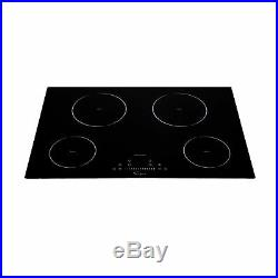 Empava 30 4 Booster Burners Tempered Glass Electric Induction Cooktop