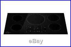 Empava 36 Electric Induction Cooktop 5 Burners 240V Glass Boost Stove 9600W