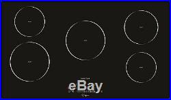 Empava 36 Electric Induction Cooktop Vitro Ceramic Glass 5 Burners EMPV-IDC36