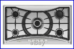 Empava 36 Gas Cooktop 5 Burners NG LPG 12000-BTU Stove Stainless Steel #GC202