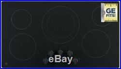 FREE SHIPPING New GE 2,500-Watt Power Boil 36 JP3036DLBB Black Electric Cooktop
