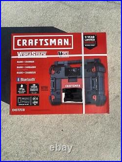 FREE TOOL SET Craftsman VersaStack 20V Cordless Bluetooth Jobsite Radio