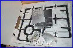 Fisher Paykel CG244LWFX1 24 Drop In Stainless LP Gas Cooktop NIB
