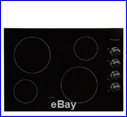 Frigidaire FFEC3024LB 30 Electric Cooktop Black