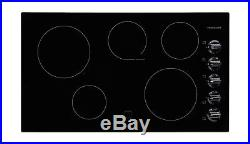 Frigidaire FFEC3624PB 36 Smoothtop Electric Cooktop in Black 2DAY SHIP