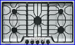 Frigidaire FFGC3612TS 36' Gas Cooktop Stainless Steel LP Kit Included