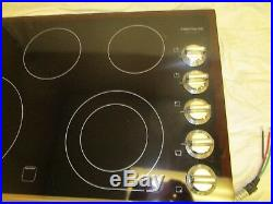 Frigidaire FGEC3645PS 36 Stainless Smoothtop Electric Cooktop NOB range