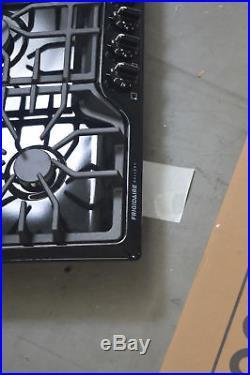 Frigidaire FGGC3645QB 36 Black 5 Burner Gas Cooktop NOB #28167 CLW
