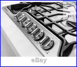 Frigidaire FGGC3645QS 36 Stainless 5 Sealed Burner Gas Cooktop- Display Model