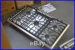 Frigidaire FGGC3645QS 36 Stainless 5 Sealed Burner Gas Cooktop NOB #25599 HL