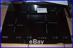 Frigidaire Gallery 30 Black Glass 4 Burner Induction Cooktop FGIC3067MB