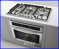 Frigidaire Gallery FGGC3645QS Stainless Steel 5 Burner Gas 36 Cooktop New