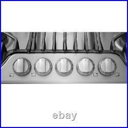 Frigidaire Pro Stainless Steel 36 5 Burner Gas Cooktop FPGC3677RS