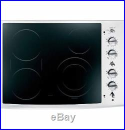 GE 30 Stainless Smoothtop Electric Cooktop (PP932SMSS)