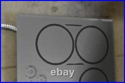 GE Café CHP95302MSS 30 Black 4 Elements Induction Cooktop NOB #110761