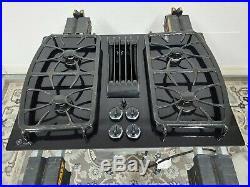 GE Cooktop Downdraft JGP989BK2BB Gas