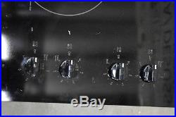 GE JP3030DJBB 30 Black 4-Element Electric Cooktop NOB #36901 CLW