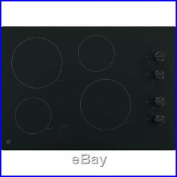 GE JP3030DJBB 30 Black Electric Smoothtop Cooktop