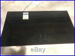 GE JP5036DJBB 36 in. Radiant Electric Cooktop in Black