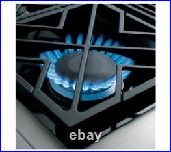GE MONOGRAM 36 Professional (Natural Gas) Rangetop 6 Burners ZGU366NPSS