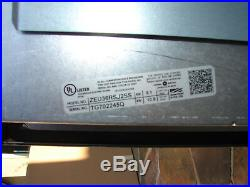 GE Monogram 36 Stainless Steel Touch Control Electric Cooktop ZEU36RSJSS