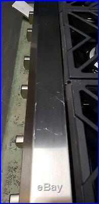 GE Monogram 36in 6 Burner Rangetop