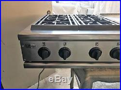 GE Monogram 48 Pro Stainless Gas Rangetop 6+ griddle in los angeles
