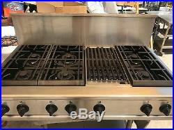 GE Monogram 48 Pro Stainless Gas or Propane Rangetop 6+ griddle in los angeles