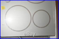 GE Monogram ZHU36RSJSS 36 Platinum Silver Induction Electric Cooktop #30707 TRK