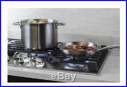 GE New cooktop gas 36 inch GE PGP7036SLSS Stainless Steel New