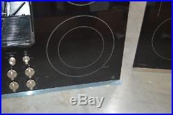 GE PP9830SJSS 30 Black Smoothtop Downdraft Electric Cooktop NOB #27680 HL