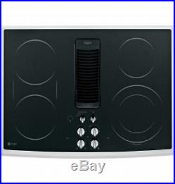 GE Profile 30 Electric Downdraft Cooktop -PP989SNSS