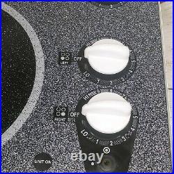 GE Profile Electric 4 Burner 30 Ceramic Glass Radiant Surface Cooktop