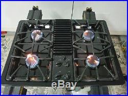 GE Profile JGP990BELBB Cooktop Gas Downdraft