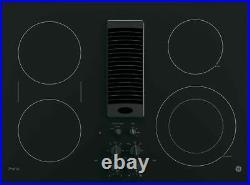 GE Profile PP9830DJBB 30 Black Downdraft Electric Cooktop NIB HRT