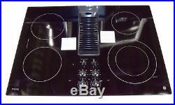 GE Profile PP9830DJBB 30 Smoothtop Electric Downdraft Cooktop