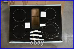 GE Profile PP9830SJSS 30 Black with Stainless Downdraft Electric Cooktop #101422