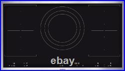 Gaggenau 36 Drop-In Black 5 Burner Flex Induction Cooktop VI492611