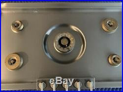 Gaggenau 36 Propane 5 Burner Cooktop W 3 Ring Wok Burner KG291120CA
