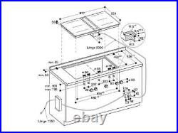 Gaggenau CVL420100 / Set For flush installation Air extraction/recirculation