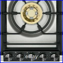 Gaggenau Cooktop VG295220 Black control panel Width 36 90cm Natural gas