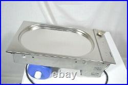 Gaggenau VP230614 12 Inch Electric Modular Teppanyaki Grill stainless steel