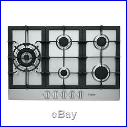 Gas Cooktop Stainless HAIER 30 Inch wide HCC3230AGS