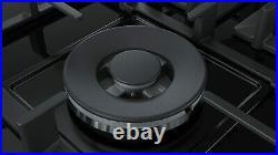 Gas Hob BOSCH PPQ7A6B90 11500W 75 cm Black Crystal (5 Stoves)